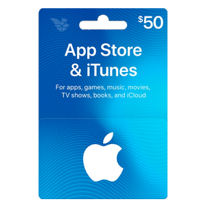Apple Store Gift Card $50